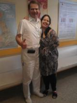 Mel and Dr Cierney